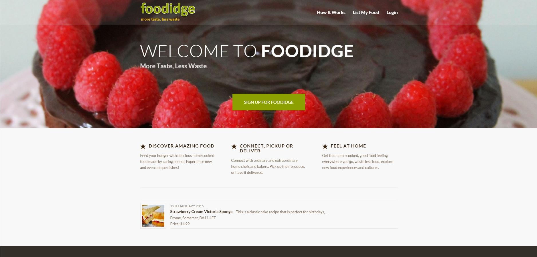Foodidge – Australia